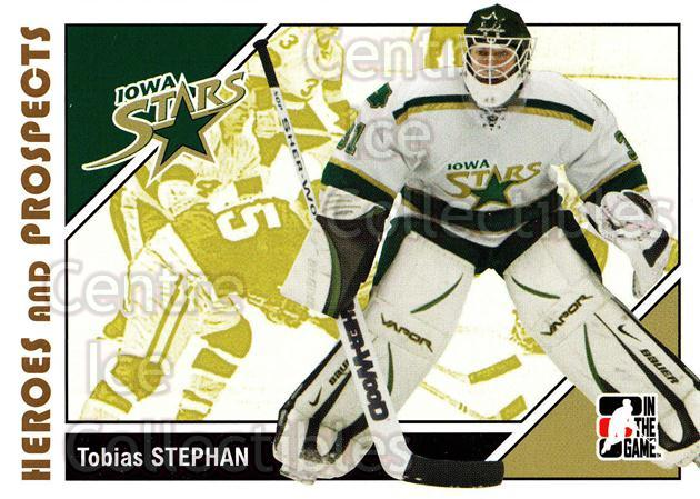 2007-08 ITG Heroes and Prospects #39 Tobias Stephan<br/>20 In Stock - $1.00 each - <a href=https://centericecollectibles.foxycart.com/cart?name=2007-08%20ITG%20Heroes%20and%20Prospects%20%2339%20Tobias%20Stephan...&price=$1.00&code=135110 class=foxycart> Buy it now! </a>