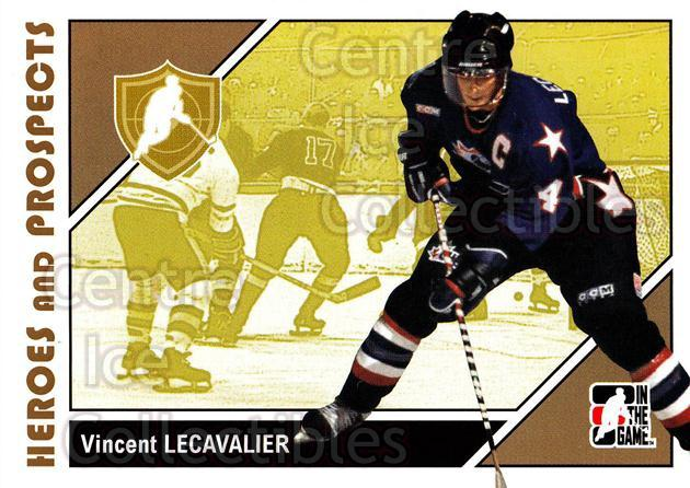 2007-08 ITG Heroes and Prospects #4 Vincent Lecavalier<br/>22 In Stock - $1.00 each - <a href=https://centericecollectibles.foxycart.com/cart?name=2007-08%20ITG%20Heroes%20and%20Prospects%20%234%20Vincent%20Lecaval...&price=$1.00&code=135111 class=foxycart> Buy it now! </a>