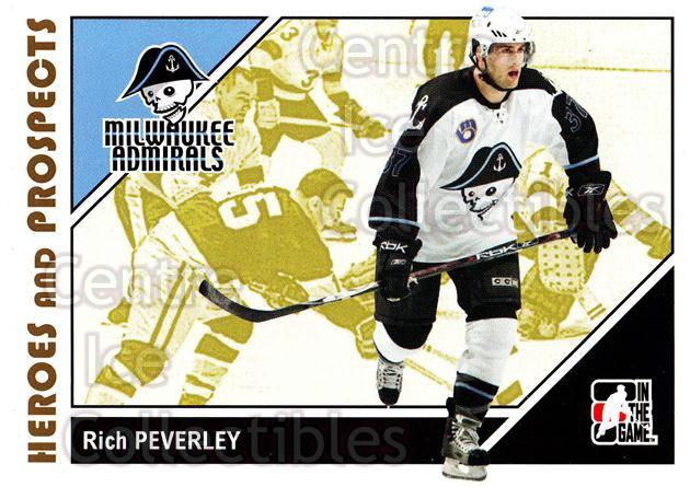 2007-08 ITG Heroes and Prospects #43 Rich Peverley<br/>22 In Stock - $1.00 each - <a href=https://centericecollectibles.foxycart.com/cart?name=2007-08%20ITG%20Heroes%20and%20Prospects%20%2343%20Rich%20Peverley...&price=$1.00&code=135115 class=foxycart> Buy it now! </a>