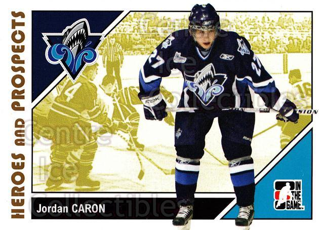 2007-08 ITG Heroes and Prospects #44 Jordan Caron<br/>19 In Stock - $1.00 each - <a href=https://centericecollectibles.foxycart.com/cart?name=2007-08%20ITG%20Heroes%20and%20Prospects%20%2344%20Jordan%20Caron...&quantity_max=19&price=$1.00&code=135116 class=foxycart> Buy it now! </a>
