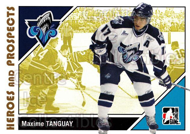 2007-08 ITG Heroes and Prospects #48 Maxime Tanguay<br/>21 In Stock - $1.00 each - <a href=https://centericecollectibles.foxycart.com/cart?name=2007-08%20ITG%20Heroes%20and%20Prospects%20%2348%20Maxime%20Tanguay...&price=$1.00&code=135120 class=foxycart> Buy it now! </a>