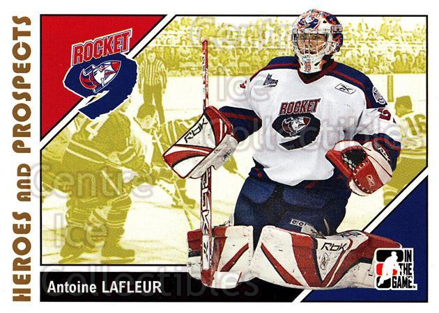 2007-08 ITG Heroes and Prospects #49 Antoine Lafleur<br/>22 In Stock - $1.00 each - <a href=https://centericecollectibles.foxycart.com/cart?name=2007-08%20ITG%20Heroes%20and%20Prospects%20%2349%20Antoine%20Lafleur...&price=$1.00&code=135121 class=foxycart> Buy it now! </a>