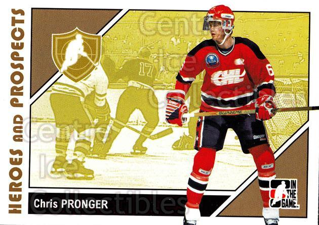 2007-08 ITG Heroes and Prospects #5 Chris Pronger<br/>22 In Stock - $1.00 each - <a href=https://centericecollectibles.foxycart.com/cart?name=2007-08%20ITG%20Heroes%20and%20Prospects%20%235%20Chris%20Pronger...&quantity_max=22&price=$1.00&code=135122 class=foxycart> Buy it now! </a>