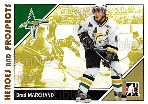 2007-08 ITG Heroes and Prospects #54 Brad Marchand<br/>21 In Stock - $1.00 each - <a href=https://centericecollectibles.foxycart.com/cart?name=2007-08%20ITG%20Heroes%20and%20Prospects%20%2354%20Brad%20Marchand...&price=$1.00&code=135127 class=foxycart> Buy it now! </a>