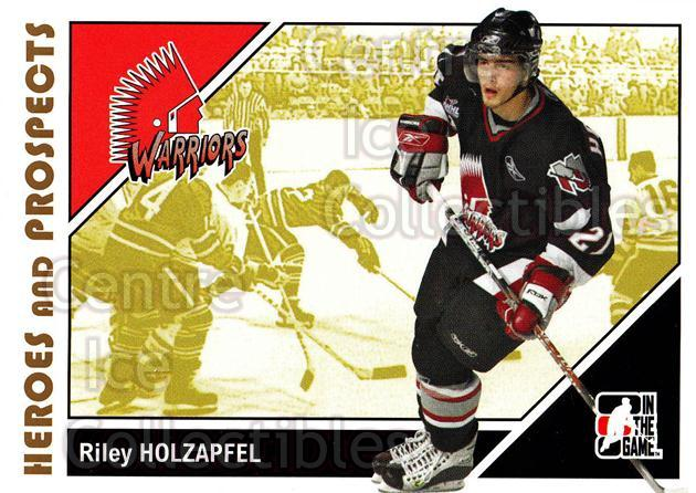2007-08 ITG Heroes and Prospects #59 Riley Holzapfel<br/>15 In Stock - $1.00 each - <a href=https://centericecollectibles.foxycart.com/cart?name=2007-08%20ITG%20Heroes%20and%20Prospects%20%2359%20Riley%20Holzapfel...&price=$1.00&code=135132 class=foxycart> Buy it now! </a>