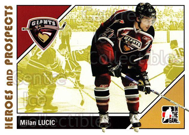2007-08 ITG Heroes and Prospects #61 Milan Lucic<br/>18 In Stock - $1.00 each - <a href=https://centericecollectibles.foxycart.com/cart?name=2007-08%20ITG%20Heroes%20and%20Prospects%20%2361%20Milan%20Lucic...&price=$1.00&code=135135 class=foxycart> Buy it now! </a>