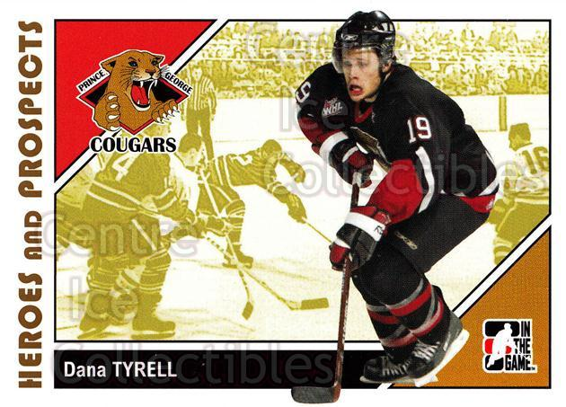 2007-08 ITG Heroes and Prospects #63 Dana Tyrell<br/>22 In Stock - $1.00 each - <a href=https://centericecollectibles.foxycart.com/cart?name=2007-08%20ITG%20Heroes%20and%20Prospects%20%2363%20Dana%20Tyrell...&price=$1.00&code=135137 class=foxycart> Buy it now! </a>