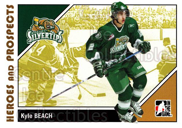 2007-08 ITG Heroes and Prospects #64 Kyle Beach<br/>19 In Stock - $1.00 each - <a href=https://centericecollectibles.foxycart.com/cart?name=2007-08%20ITG%20Heroes%20and%20Prospects%20%2364%20Kyle%20Beach...&price=$1.00&code=135138 class=foxycart> Buy it now! </a>