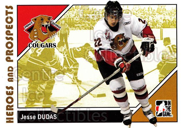 2007-08 ITG Heroes and Prospects #72 Jesse Dudas<br/>20 In Stock - $1.00 each - <a href=https://centericecollectibles.foxycart.com/cart?name=2007-08%20ITG%20Heroes%20and%20Prospects%20%2372%20Jesse%20Dudas...&price=$1.00&code=135147 class=foxycart> Buy it now! </a>
