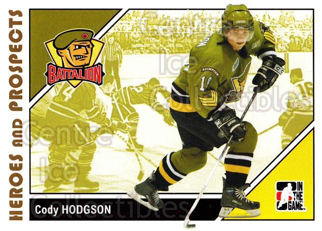 2007-08 ITG Heroes and Prospects #79 Cody Hodgson<br/>20 In Stock - $1.00 each - <a href=https://centericecollectibles.foxycart.com/cart?name=2007-08%20ITG%20Heroes%20and%20Prospects%20%2379%20Cody%20Hodgson...&price=$1.00&code=135154 class=foxycart> Buy it now! </a>