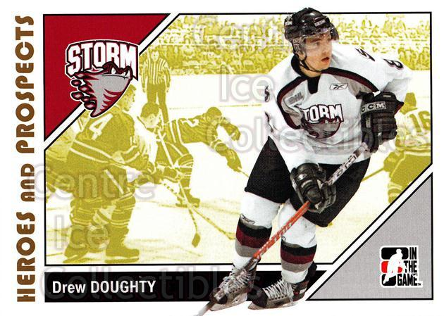 2007-08 ITG Heroes and Prospects #81 Drew Doughty<br/>26 In Stock - $1.00 each - <a href=https://centericecollectibles.foxycart.com/cart?name=2007-08%20ITG%20Heroes%20and%20Prospects%20%2381%20Drew%20Doughty...&price=$1.00&code=135156 class=foxycart> Buy it now! </a>