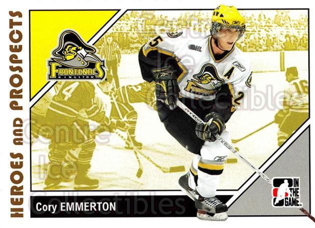 2007-08 ITG Heroes and Prospects #82 Cory Emmerton<br/>21 In Stock - $1.00 each - <a href=https://centericecollectibles.foxycart.com/cart?name=2007-08%20ITG%20Heroes%20and%20Prospects%20%2382%20Cory%20Emmerton...&price=$1.00&code=135157 class=foxycart> Buy it now! </a>