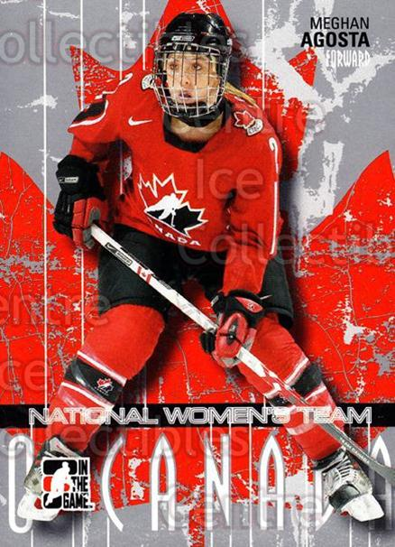 2007-08 ITG O Canada #38 Meghan Agosta<br/>4 In Stock - $1.00 each - <a href=https://centericecollectibles.foxycart.com/cart?name=2007-08%20ITG%20O%20Canada%20%2338%20Meghan%20Agosta...&quantity_max=4&price=$1.00&code=135206 class=foxycart> Buy it now! </a>