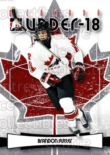 2007-08 ITG O Canada #4 Brandon Sutter<br/>107 In Stock - $1.00 each - <a href=https://centericecollectibles.foxycart.com/cart?name=2007-08%20ITG%20O%20Canada%20%234%20Brandon%20Sutter...&price=$1.00&code=135208 class=foxycart> Buy it now! </a>