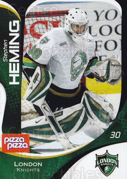 2007-08 London Knights #2 Stephen Heming<br/>8 In Stock - $3.00 each - <a href=https://centericecollectibles.foxycart.com/cart?name=2007-08%20London%20Knights%20%232%20Stephen%20Heming...&quantity_max=8&price=$3.00&code=135352 class=foxycart> Buy it now! </a>