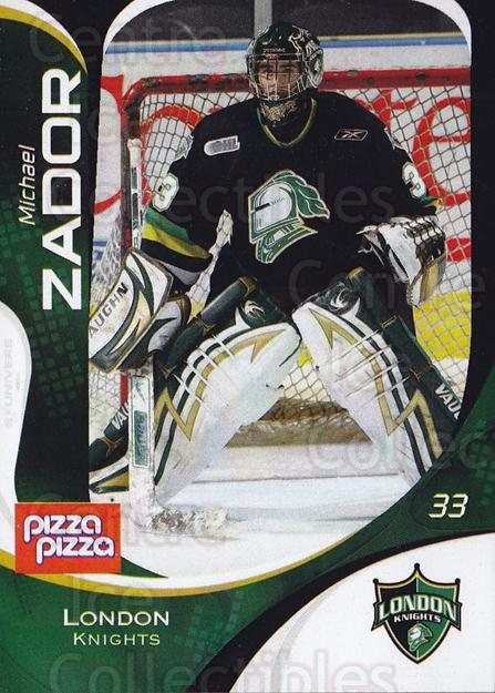 2007-08 London Knights #3 Michael Zador<br/>1 In Stock - $3.00 each - <a href=https://centericecollectibles.foxycart.com/cart?name=2007-08%20London%20Knights%20%233%20Michael%20Zador...&quantity_max=1&price=$3.00&code=135360 class=foxycart> Buy it now! </a>