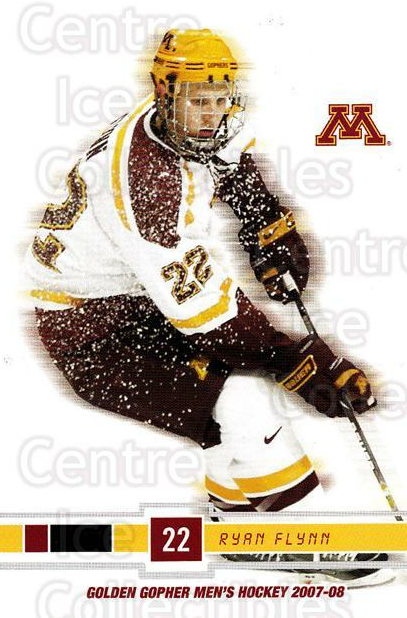 2007-08 Minnesota Golden Gophers #9 Ryan Flinn<br/>4 In Stock - $3.00 each - <a href=https://centericecollectibles.foxycart.com/cart?name=2007-08%20Minnesota%20Golden%20Gophers%20%239%20Ryan%20Flinn...&quantity_max=4&price=$3.00&code=135450 class=foxycart> Buy it now! </a>
