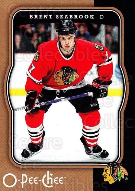 2007-08 O-Pee-Chee #111 Brent Seabrook<br/>4 In Stock - $1.00 each - <a href=https://centericecollectibles.foxycart.com/cart?name=2007-08%20O-Pee-Chee%20%23111%20Brent%20Seabrook...&quantity_max=4&price=$1.00&code=135465 class=foxycart> Buy it now! </a>