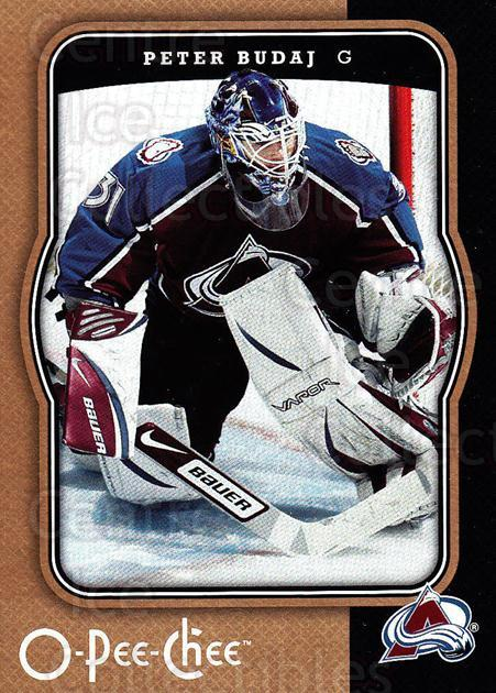 2007-08 O-Pee-Chee #118 Peter Budaj<br/>5 In Stock - $1.00 each - <a href=https://centericecollectibles.foxycart.com/cart?name=2007-08%20O-Pee-Chee%20%23118%20Peter%20Budaj...&quantity_max=5&price=$1.00&code=135472 class=foxycart> Buy it now! </a>