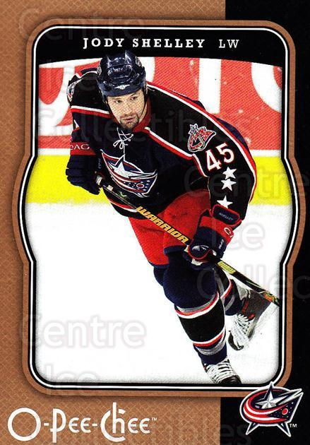 2007-08 O-Pee-Chee #136 Jody Shelley<br/>5 In Stock - $1.00 each - <a href=https://centericecollectibles.foxycart.com/cart?name=2007-08%20O-Pee-Chee%20%23136%20Jody%20Shelley...&quantity_max=5&price=$1.00&code=135492 class=foxycart> Buy it now! </a>