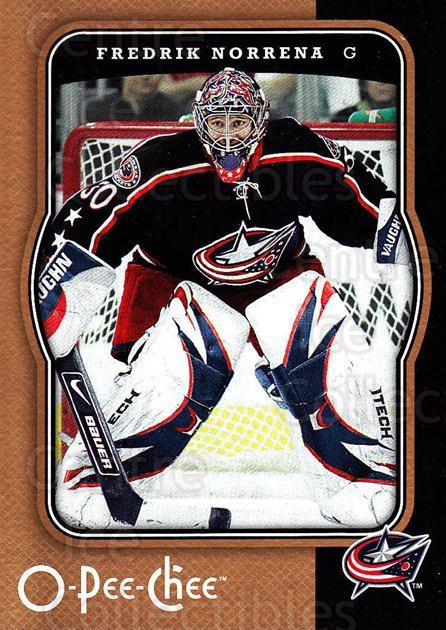 2007-08 O-Pee-Chee #140 Fredrik Norrena<br/>2 In Stock - $1.00 each - <a href=https://centericecollectibles.foxycart.com/cart?name=2007-08%20O-Pee-Chee%20%23140%20Fredrik%20Norrena...&quantity_max=2&price=$1.00&code=135497 class=foxycart> Buy it now! </a>