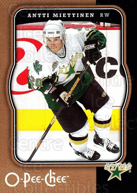 2007-08 O-Pee-Chee #157 Antti Miettinen<br/>5 In Stock - $1.00 each - <a href=https://centericecollectibles.foxycart.com/cart?name=2007-08%20O-Pee-Chee%20%23157%20Antti%20Miettinen...&quantity_max=5&price=$1.00&code=135515 class=foxycart> Buy it now! </a>