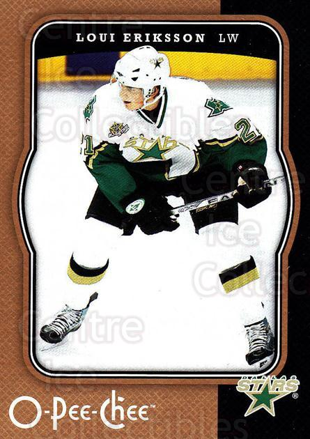 2007-08 O-Pee-Chee #160 Loui Eriksson<br/>5 In Stock - $1.00 each - <a href=https://centericecollectibles.foxycart.com/cart?name=2007-08%20O-Pee-Chee%20%23160%20Loui%20Eriksson...&quantity_max=5&price=$1.00&code=135519 class=foxycart> Buy it now! </a>