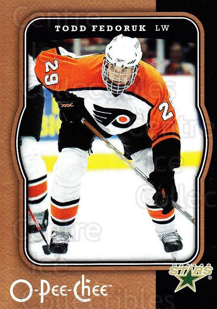 2007-08 O-Pee-Chee #161 Todd Fedoruk<br/>4 In Stock - $1.00 each - <a href=https://centericecollectibles.foxycart.com/cart?name=2007-08%20O-Pee-Chee%20%23161%20Todd%20Fedoruk...&quantity_max=4&price=$1.00&code=135520 class=foxycart> Buy it now! </a>