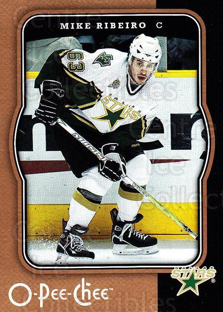 2007-08 O-Pee-Chee #162 Mike Ribeiro<br/>5 In Stock - $1.00 each - <a href=https://centericecollectibles.foxycart.com/cart?name=2007-08%20O-Pee-Chee%20%23162%20Mike%20Ribeiro...&quantity_max=5&price=$1.00&code=135521 class=foxycart> Buy it now! </a>