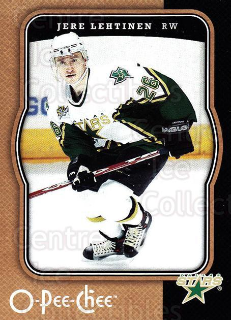 2007-08 O-Pee-Chee #163 Jere Lehtinen<br/>4 In Stock - $1.00 each - <a href=https://centericecollectibles.foxycart.com/cart?name=2007-08%20O-Pee-Chee%20%23163%20Jere%20Lehtinen...&quantity_max=4&price=$1.00&code=135522 class=foxycart> Buy it now! </a>