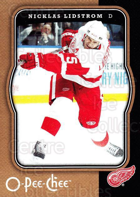 2007-08 O-Pee-Chee #168 Nicklas Lidstrom<br/>3 In Stock - $2.00 each - <a href=https://centericecollectibles.foxycart.com/cart?name=2007-08%20O-Pee-Chee%20%23168%20Nicklas%20Lidstro...&quantity_max=3&price=$2.00&code=135527 class=foxycart> Buy it now! </a>