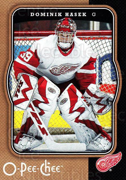 2007-08 O-Pee-Chee #184 Dominik Hasek<br/>2 In Stock - $1.00 each - <a href=https://centericecollectibles.foxycart.com/cart?name=2007-08%20O-Pee-Chee%20%23184%20Dominik%20Hasek...&quantity_max=2&price=$1.00&code=135545 class=foxycart> Buy it now! </a>