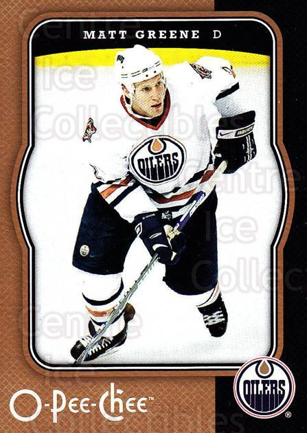 2007-08 O-Pee-Chee #190 Matt Greene<br/>4 In Stock - $1.00 each - <a href=https://centericecollectibles.foxycart.com/cart?name=2007-08%20O-Pee-Chee%20%23190%20Matt%20Greene...&quantity_max=4&price=$1.00&code=135552 class=foxycart> Buy it now! </a>