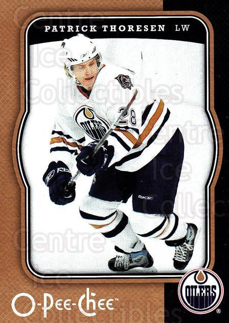 2007-08 O-Pee-Chee #196 Patrick Thoresen<br/>2 In Stock - $1.00 each - <a href=https://centericecollectibles.foxycart.com/cart?name=2007-08%20O-Pee-Chee%20%23196%20Patrick%20Thorese...&quantity_max=2&price=$1.00&code=135558 class=foxycart> Buy it now! </a>