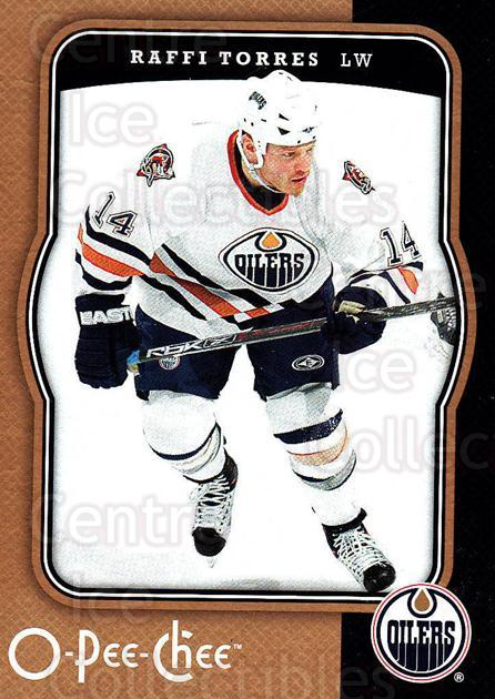 2007-08 O-Pee-Chee #201 Raffi Torres<br/>4 In Stock - $1.00 each - <a href=https://centericecollectibles.foxycart.com/cart?name=2007-08%20O-Pee-Chee%20%23201%20Raffi%20Torres...&quantity_max=4&price=$1.00&code=135565 class=foxycart> Buy it now! </a>