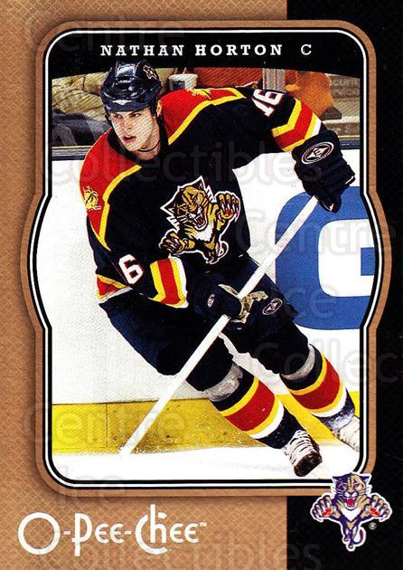 2007-08 O-Pee-Chee #209 Nathan Horton<br/>5 In Stock - $1.00 each - <a href=https://centericecollectibles.foxycart.com/cart?name=2007-08%20O-Pee-Chee%20%23209%20Nathan%20Horton...&quantity_max=5&price=$1.00&code=135573 class=foxycart> Buy it now! </a>