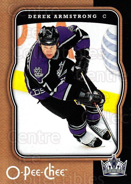 2007-08 O-Pee-Chee #221 Derek Armstrong<br/>5 In Stock - $1.00 each - <a href=https://centericecollectibles.foxycart.com/cart?name=2007-08%20O-Pee-Chee%20%23221%20Derek%20Armstrong...&quantity_max=5&price=$1.00&code=135587 class=foxycart> Buy it now! </a>