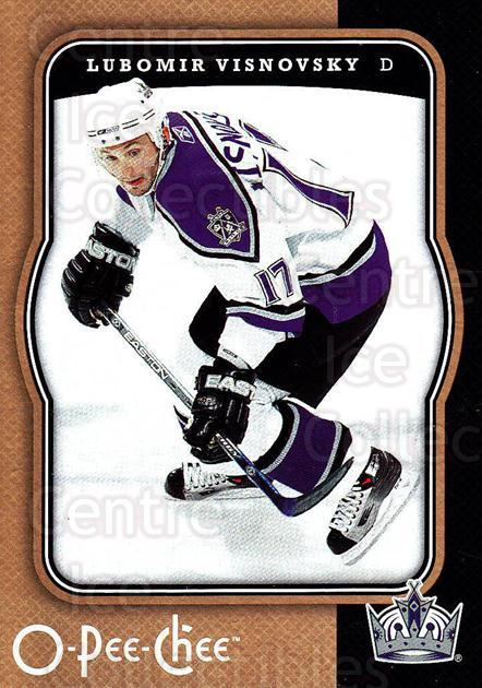 2007-08 O-Pee-Chee #233 Lubomir Visnovsky<br/>5 In Stock - $1.00 each - <a href=https://centericecollectibles.foxycart.com/cart?name=2007-08%20O-Pee-Chee%20%23233%20Lubomir%20Visnovs...&quantity_max=5&price=$1.00&code=135600 class=foxycart> Buy it now! </a>