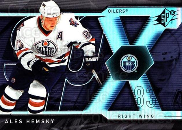 2007-08 SPx #25 Ales Hemsky<br/>5 In Stock - $1.00 each - <a href=https://centericecollectibles.foxycart.com/cart?name=2007-08%20SPx%20%2325%20Ales%20Hemsky...&quantity_max=5&price=$1.00&code=135816 class=foxycart> Buy it now! </a>