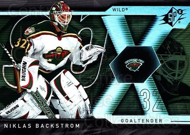 2007-08 SPx #30 Niklas Backstrom<br/>5 In Stock - $1.00 each - <a href=https://centericecollectibles.foxycart.com/cart?name=2007-08%20SPx%20%2330%20Niklas%20Backstro...&quantity_max=5&price=$1.00&code=135821 class=foxycart> Buy it now! </a>