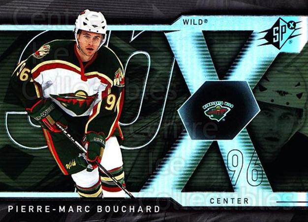 2007-08 SPx #31 Pierre-Marc Bouchard<br/>5 In Stock - $1.00 each - <a href=https://centericecollectibles.foxycart.com/cart?name=2007-08%20SPx%20%2331%20Pierre-Marc%20Bou...&quantity_max=5&price=$1.00&code=135822 class=foxycart> Buy it now! </a>