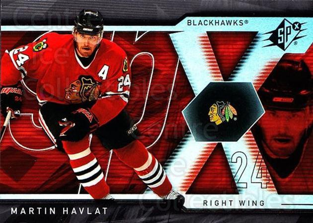 2007-08 SPx #36 Martin Havlat<br/>5 In Stock - $1.00 each - <a href=https://centericecollectibles.foxycart.com/cart?name=2007-08%20SPx%20%2336%20Martin%20Havlat...&quantity_max=5&price=$1.00&code=135827 class=foxycart> Buy it now! </a>