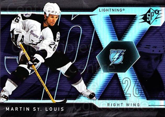 2007-08 SPx #61 Martin St. Louis<br/>5 In Stock - $1.00 each - <a href=https://centericecollectibles.foxycart.com/cart?name=2007-08%20SPx%20%2361%20Martin%20St.%20Loui...&quantity_max=5&price=$1.00&code=135855 class=foxycart> Buy it now! </a>