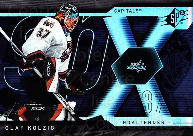 2007-08 SPx #65 Olaf Kolzig<br/>5 In Stock - $1.00 each - <a href=https://centericecollectibles.foxycart.com/cart?name=2007-08%20SPx%20%2365%20Olaf%20Kolzig...&quantity_max=5&price=$1.00&code=135858 class=foxycart> Buy it now! </a>