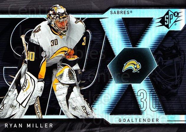 2007-08 SPx #71 Ryan Miller<br/>5 In Stock - $1.00 each - <a href=https://centericecollectibles.foxycart.com/cart?name=2007-08%20SPx%20%2371%20Ryan%20Miller...&quantity_max=5&price=$1.00&code=135864 class=foxycart> Buy it now! </a>