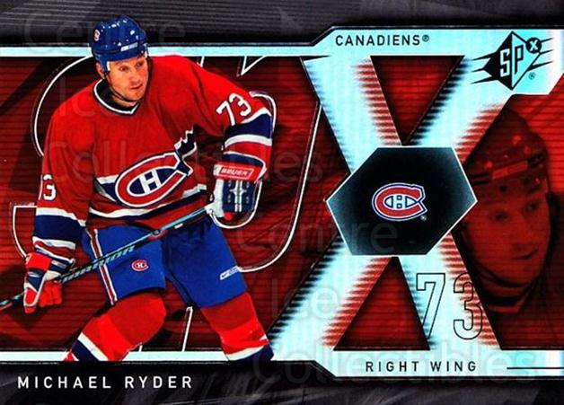 2007-08 SPx #75 Michael Ryder<br/>5 In Stock - $1.00 each - <a href=https://centericecollectibles.foxycart.com/cart?name=2007-08%20SPx%20%2375%20Michael%20Ryder...&quantity_max=5&price=$1.00&code=135868 class=foxycart> Buy it now! </a>