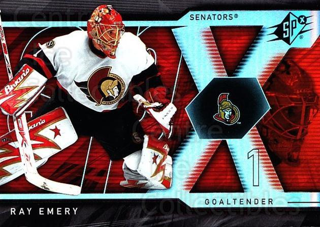 2007-08 SPx #79 Ray Emery<br/>5 In Stock - $1.00 each - <a href=https://centericecollectibles.foxycart.com/cart?name=2007-08%20SPx%20%2379%20Ray%20Emery...&quantity_max=5&price=$1.00&code=135872 class=foxycart> Buy it now! </a>