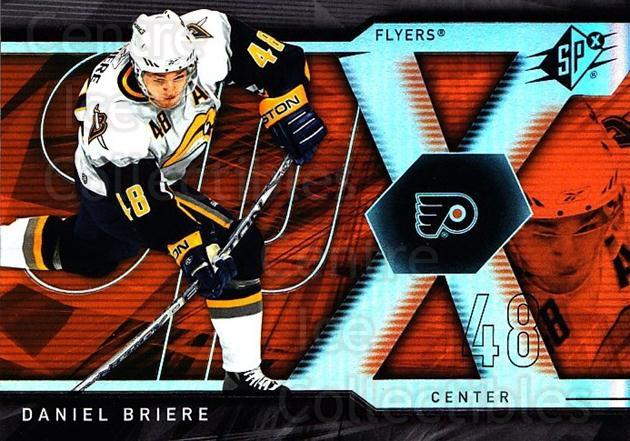 2007-08 SPx #95 Daniel Briere<br/>5 In Stock - $1.00 each - <a href=https://centericecollectibles.foxycart.com/cart?name=2007-08%20SPx%20%2395%20Daniel%20Briere...&quantity_max=5&price=$1.00&code=135890 class=foxycart> Buy it now! </a>