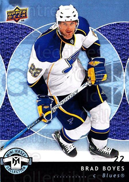 2007-08 UD Mini Jersey Collection #86 Brad Boyes<br/>6 In Stock - $1.00 each - <a href=https://centericecollectibles.foxycart.com/cart?name=2007-08%20UD%20Mini%20Jersey%20Collection%20%2386%20Brad%20Boyes...&quantity_max=6&price=$1.00&code=136046 class=foxycart> Buy it now! </a>