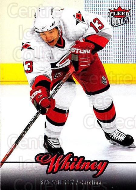 2007-08 Ultra #161 Ray Whitney<br/>5 In Stock - $1.00 each - <a href=https://centericecollectibles.foxycart.com/cart?name=2007-08%20Ultra%20%23161%20Ray%20Whitney...&quantity_max=5&price=$1.00&code=136128 class=foxycart> Buy it now! </a>